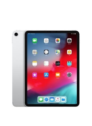 """Apple 11"""" Yeni İpad Pro Wi-Fi 256Gb Mtxr2Tu/A Tablet - Silver Renkli"""